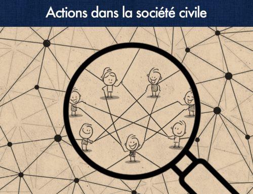 Actions dans la société civile